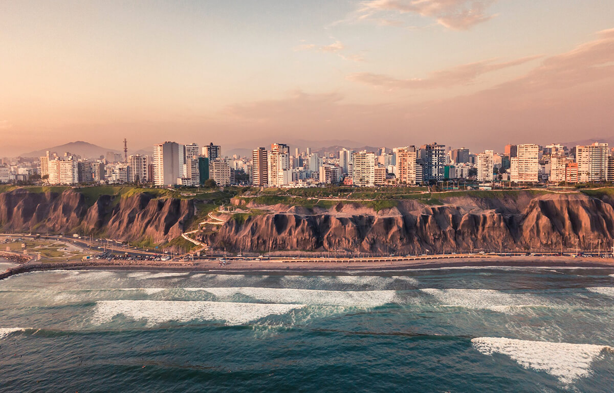 Photo of the coastline at Cto. de Playas de la Costa Verde, Cercado de Lima, Peru